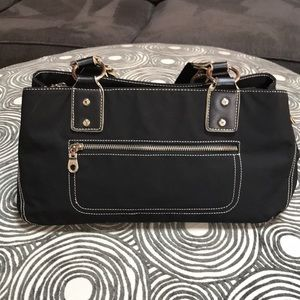 LIKE NEW! KENNETH COLE REACTION nylon satchel bag